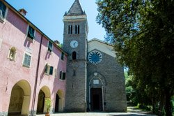 Sanctuary of Our Lady of Soviore, Monterosso, Italy