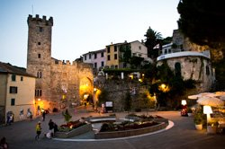The central part of the village, Porto Venere, Italy