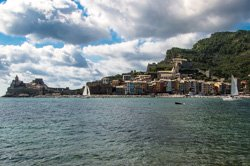 View from the Palmaria Isle, Porto Venere, Italy