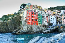 Fishermen district, Riomaggiore, Italy
